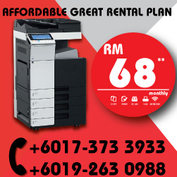 Konica Minolta Promotion Lowest Rental Rate start from RM68/mth
